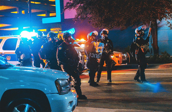 LAPD kills security guard sparking outrage after police killings of people of color